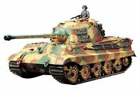 Tamiya 1/16 RC Tank No.17 German Heavy Tank King Tiger Full Operations Set