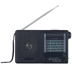 Weltradio: Analoger 20-Band-Weltempfänger mit FM, MW und 18x KW (Analogradio)