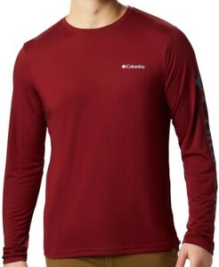 COLUMBIA Miller Valley AO0212664 Cotton Pullover T-Shirt Long-Sleeve Shirt Mens
