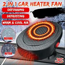 500W 12V Portable Auto Car Heater Heating Dryer Fan Defroster Demister Warm