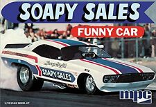 MPC 831 Soapy Sales Funny Car 1/25 Scale Plastic Model Kit MPCS0831