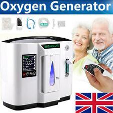 Intelligent 1L-6L Portable Oxygen Concentrator Machine Air Purifier Home 130W UK