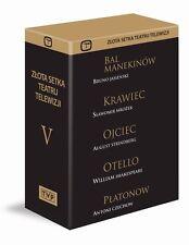 Zlota Setka Teatru Telewizji - Vol. 5 (DVD 5 disc) teatr TV POLISH POLSKI