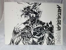 Metal Gear Solid Revengeance Yoji Shinkawa Concept Art Book artbook