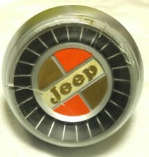 1960s/1970s JEEP GLADIATOR/J-SERIES/WAGONEER HORN BUTTON CAP/BEZEL