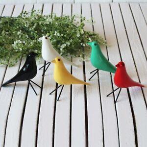wooden bird craft ornament handmade simulation pigeon figurine home office decor