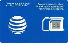 New listing At&T / Att Prepaid 4G Lte Sim Kit new in package