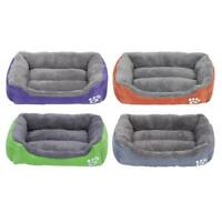 Paw Pet Sofa Dog Bed Waterproof Bottom Soft Plush Nest Basket for Cat Puppy A#S