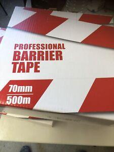 Professional Barrier Tape X5 Rolls 70mmx500m