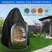 Swing Chair Cover for Hanging Hammock Stand Egg Wicker Seat Patio Garden  K