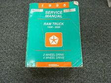 1995 Dodge 1500 Ram Truck Shop Service Repair Manual LT Laramie SLT ST WS