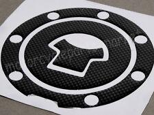 Carbon Fiber Fuel Gas Cap cover pad sticker Decal For Honda CBR 600RR 1000RR