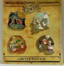 Walt's Classic Collection Sleepy Hollows Headless Horseman Ichabod 4 LE Pin Set