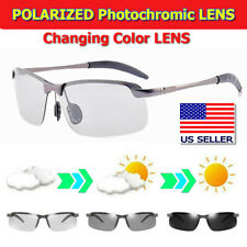 Photochromic Polarized Sunglasses Day and Night Driving Sports PhotochromicGlass
