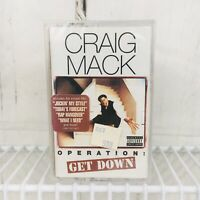 Craig Mack Operation Get Down Cassette Tape 1997