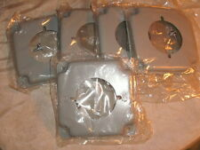 """MULBERRY 11422 EXPOSED WORK 4-11/16"""" DRYER/RANGE RECEP COVER 2.125"""" DIA LOT OF 5"""