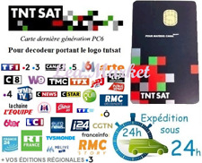 TNTSAT HD V6 CARD for ASTRA satellite decoder, watch French TV !