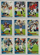 2010 Topps Denver Broncos Team Set 13 Cards Tim Tebow RC DeMaryius Thomas RC ++