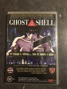 Ghost In The Shell Anime Dvd