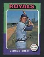 1975 Topps #228 George Brett NM/NM+ RC Rookie Royals 114612