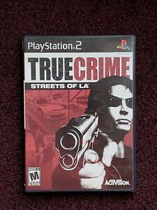 True Crime: Streets Of LA (Sony Playstation 2 PS2)