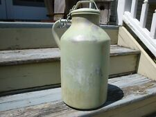 Primitive Farmhouse Decor Vintage Antique Aluminum Milk Jug Can 3 Gal Americana