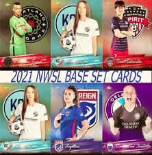 2021 Parkside NWSL Soccer Pick Your Card Base (1-200) CHEAP!!!!!
