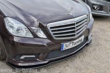 Sonderaktion Spoilerschwert Frontspoilerlippe Cuplippe ABS MB E-Klasse AMG W212