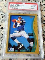 PEYTON MANNING 2012 Topps Reprint 1998 Rookie Card RC PSA 8 Broncos Colts HOF $$