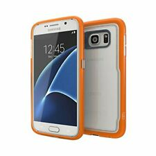 Gear4 Icebox Shock Case Cover For Galaxy S7 Edge D30 Protection Orange - NEW