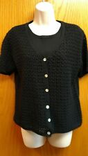 Victoria Jones black sweater size medium