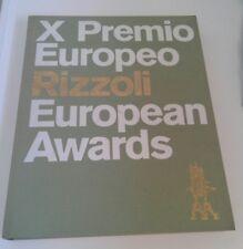 X PREMIO EUROPEO RIZZOLI, 1972, NUOVO!!!