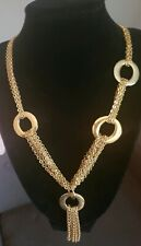 nOir NYC Jewelry Brsnd Multi- Chain NECKLACE $160 MSRP
