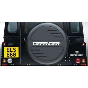 LAND ROVER DEFENDER GENUINE SPARE WHEEL COVER STC7889 NEW