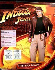 INDIANA JONES HALLOWEEN COSTUME X-LARGE NEW RAIDERS CRYSTAL SKULL RUBIES