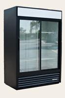 True GDM-47 2-Door Sliding Glass Merchandiser Refrigerator Cooler FREE SHIPPING