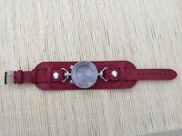 Watch case for ETA Valjoux 7750 swiss made movement - Bullhead - leather strap