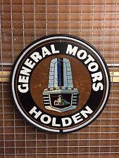 GENERAL MOTORS HOLDEN RARE 800MM DIAMETER  NEON SIGN PERFECT BAR MANCAVE