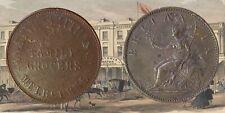 AUSTRALIA :-Trade token, Annand,Smith & Co. 1 penny  token, undated c1858 JP183