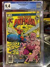 MARVEL PREMIERE #48 CGC 9.4, 2nd app & origin of Ant-Man (Scott Lang) NEWSSTAND!