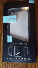 Sonix Active Series Rugged FULL Protection Slim Sleek Case iPhone 6 Clear Blk CR