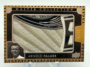 2016 UD All Time Greats Master Collection ARNOLD PALMER Logo Patch 31/50 Silver