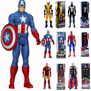 12 inch Marvel Avengers Action Figures Hulk Hero Series Gloves Toys Kids Gifts