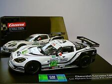 Carrera Evolution 27373 Chevrolet Corvette C6R LeMans 2010 NEU
