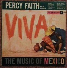 PERCY FAITH: Viva, Music Of Mexico. Columbia 1950s 6-Eye CL 1075