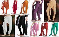 20 Colors Indian Cotton Churidar + Dupatta Salwar for Kameez Kurti Tunic Kurta