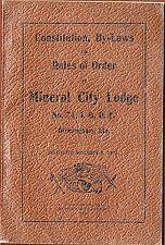 1903 Birmingham Alabama I O O F; By-Laws, Member List etc Mineral City Lodge 74