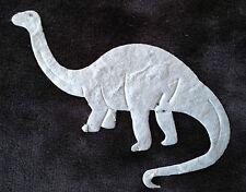 10 Brontosaurus dinosaurs dinosaur handmade mulberry paper Scrapbooks crafts