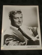 Johnny Long Big Band leader B&W publicity photo late 40's early 50's Jazz Swing
