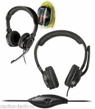NEW SUPER STYLISH TRUST GXT10 ANALOGUE GAMER HEADSET - LIMITED OFFER